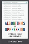 The cover of the book Algorithms of Oppression